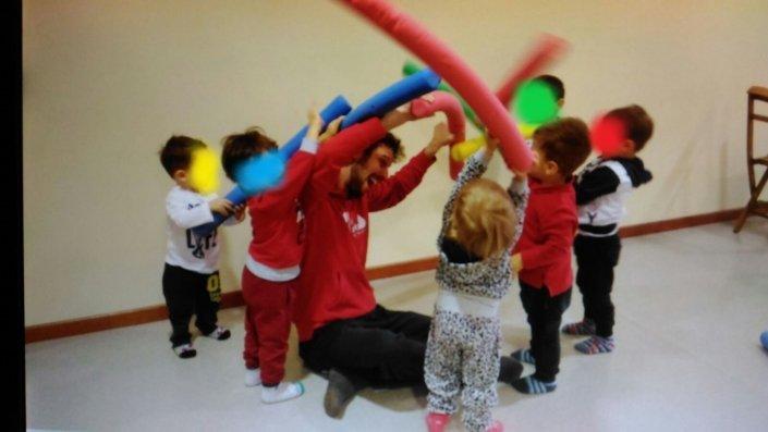 Psicomotricità Verona Mattia Scapini e bambini