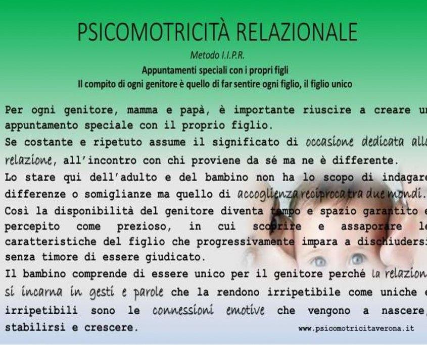 Psicomotricità Relazionale psicomotricitaverona Mattia Scapini Appuntamento Genitori e Figli